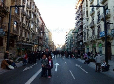 Granada Spain - Three Kings Procession Main Route
