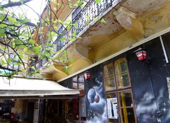 Füge Udvar Ruin Bar Budapest Hungary
