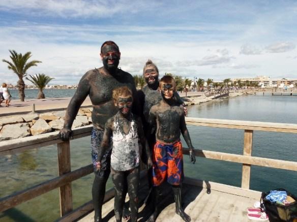 Murcia Spain - Wagoners Abroad at Mar Menor - Lo Pagan Mud Bath Read more on WagonersAbroad.com