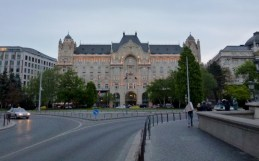 Night Walk Danube River - Budapest Hungary Four Seasons Hotel