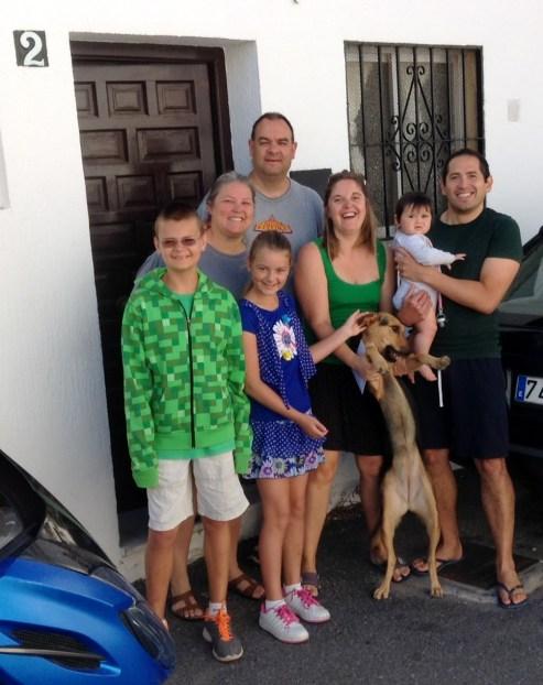 Good-bye Spain Wagoner and Bekaert Families