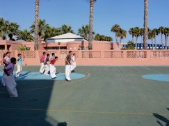 Last Day of School Almunecar Spain June 2014
