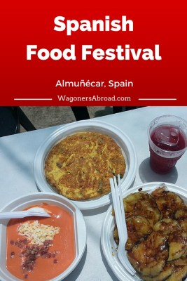 Spanish Food feria-gastronomica-almunecar-food Read more on WagonersAbroad.com