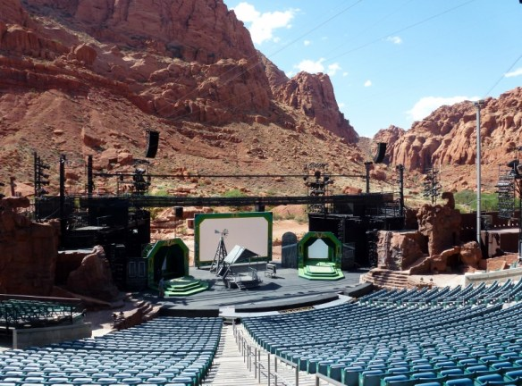 Tuacahn Amphitheater Utah Outdoor Venue