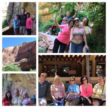 Zion National Park with family - Utah June 2014