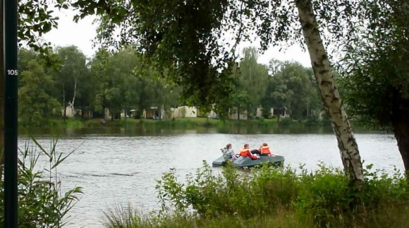 Center Parcs Het Meerdal - Cool lake area and paddle boats