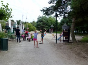 Center Parcs Het Meerdal Playground at beach by Market Dome
