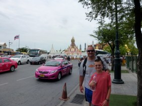 On our way to the Grand Palace Bangkok
