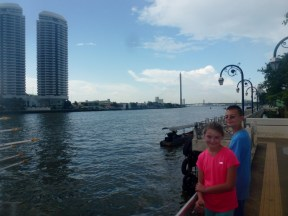 Roaming around Bangkok river view