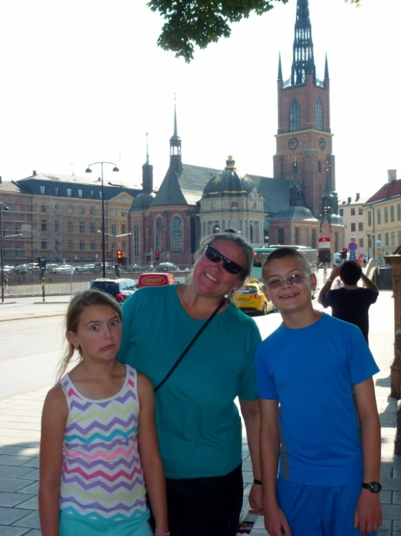 Stockholm Sweden - Old Town Goofy Faces