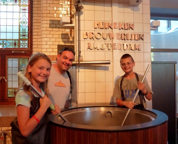 The Heineken Experience Amsterdam - Mixing the Wort
