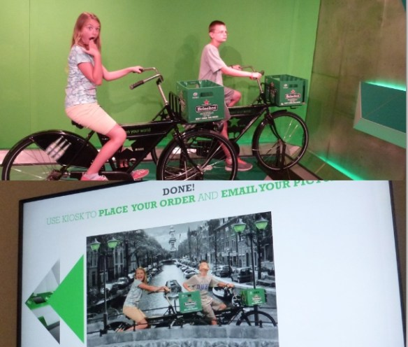 The Heineken Experience Amsterdam - Photo Fun