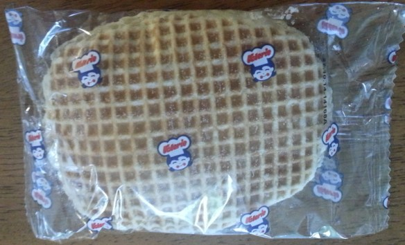 Stroopwafel with some kind of Vanilla