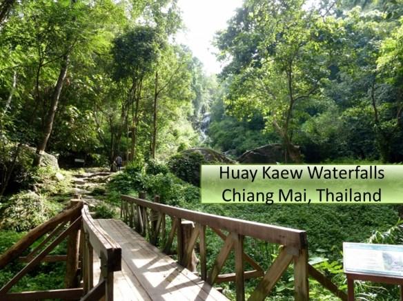 Huay Kaew Waterfalls Chiang Mai Thailand (huai Kaeo waterfalls)