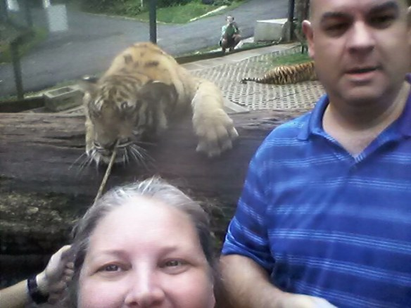 Heidi and Alan taking a selfie