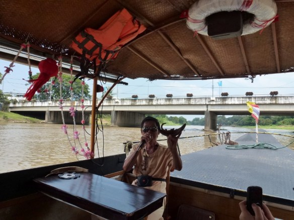 Scorpion Tailed River Cruise and why it has its shape