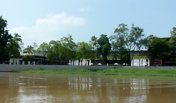 Scorpion Tailed River Cruise - The first floor of this hotel was under water in flood of 2012