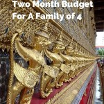 Thailand Budget 2 Months
