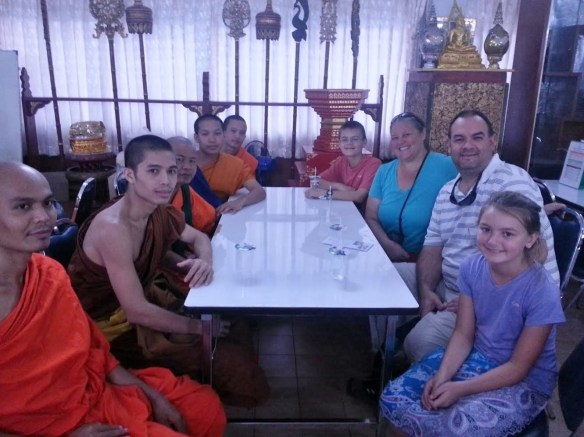 Wagoners Abroad Monk Chat Chiang Mai. We tell you how and where to have a Monk Chat in Chiang Mai Thailand. It is free and they are open to all questions, of course they will ask you some too. Read more on WagonersAbroad.com