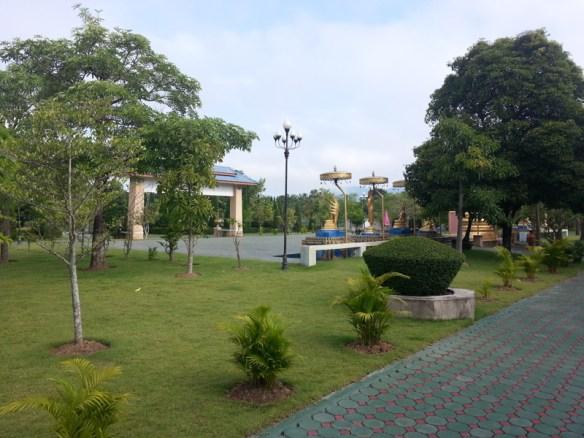 Meditation Square at the Meditation retreat Chiang Mai