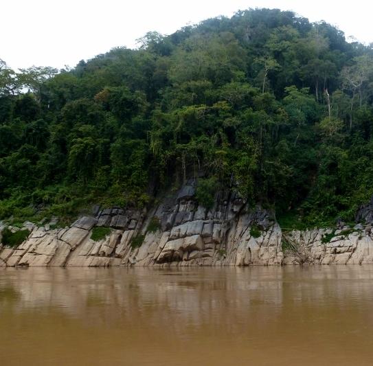Mekong River Scenery Laos