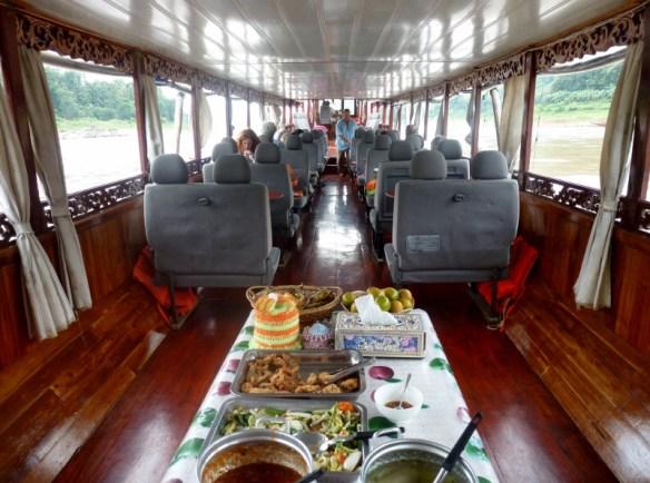 Nagi of Mekong 2 day slow boat Thailand - Laos