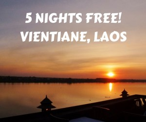 5 Nights Free! Vientiane Laos
