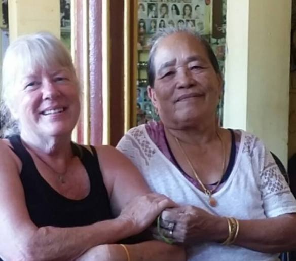 Gma Bev Laos and Mama