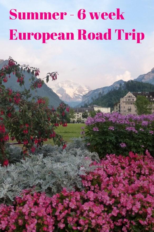 Summer European Road Trip Cost