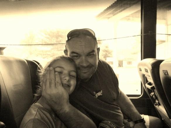 VIP Bus Laos Alan and Anya