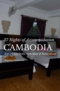 27 Nights of Accommodation in Cambodia