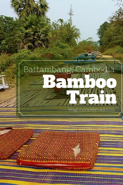 Bamboo Train Battambang Cambodia blog