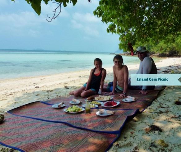 Wagoners Abroad on a private Island Gem Picnic Koh Samui Thailand