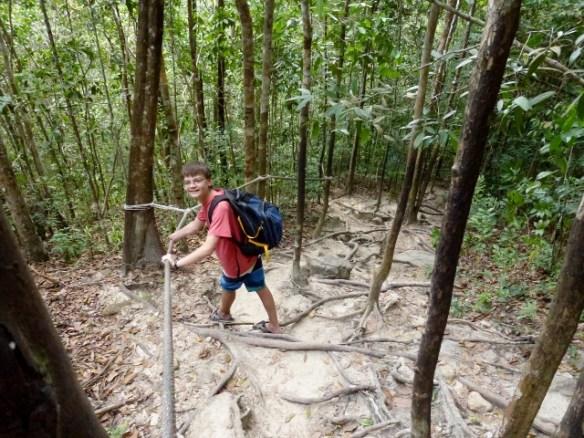 Koh-Phangan-Scooter-Day-Lars-Paradise-Waterfall-Climb