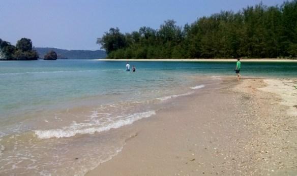 Ao Nang Beach at the end with island (3)