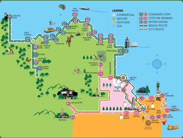 HOHOPenang Map