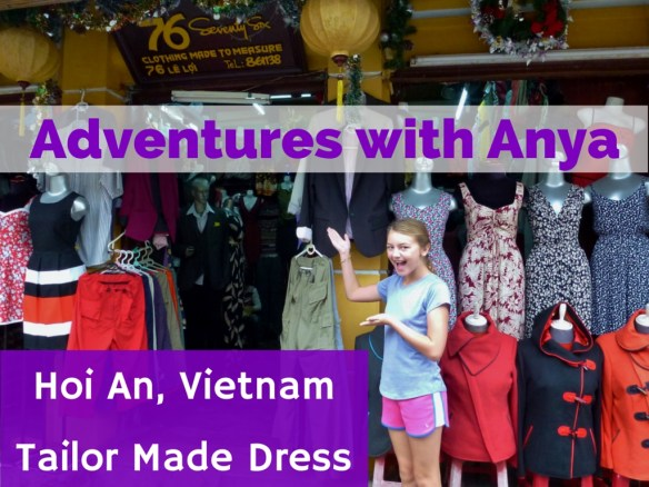 Adventures with Anya custom dress