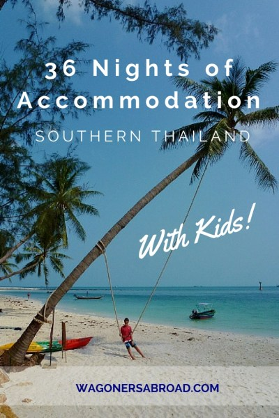 If you are heading to Southern Thailand, we have some family friendly accommodation in Thailand recommendations for you. We share it all, the good, bad and meh! Read more on WagonersAbroad.com