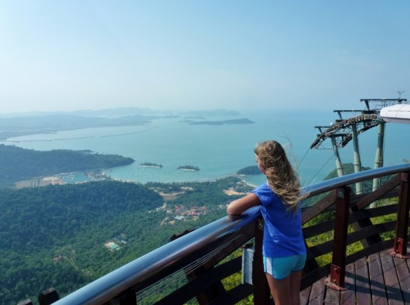 Langkawi SkyCab and Hanging Bridge Views