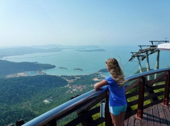 Langkawi SkyCab and Hanging Bridge Views