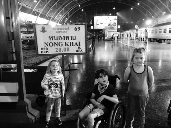 Smiths Holiday Road Sleeper train to nong khai from Bangkok