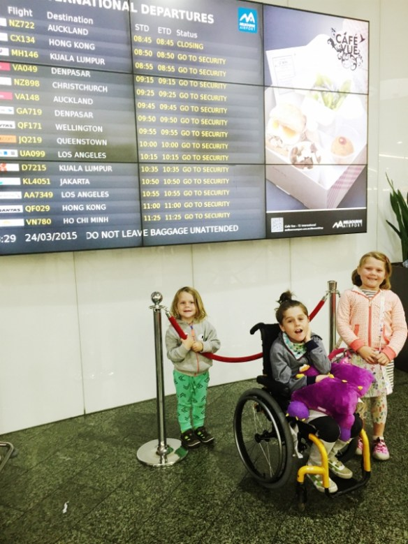 Through the Eyes of the Traveling Child – Cooper, Pepper and  Woody Smiths Holiday Road - Melbourne Tullamarine Airport