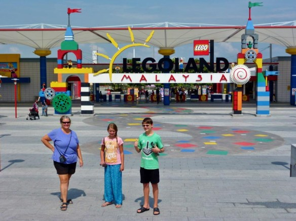 Experience the beautiful and fun Johor-Bahru Legoland Malaysia. Read more family fun on WagonersAbroad.com