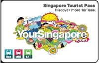 Singapore Tourist Card MRT