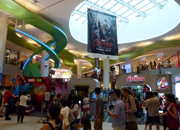 Singapore with kids - Things to do and see Vivocity