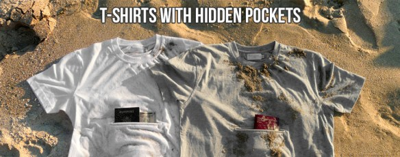 tshirt with hidden pocket