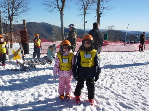 Kids Ski Lessons Wintergreen Virginia