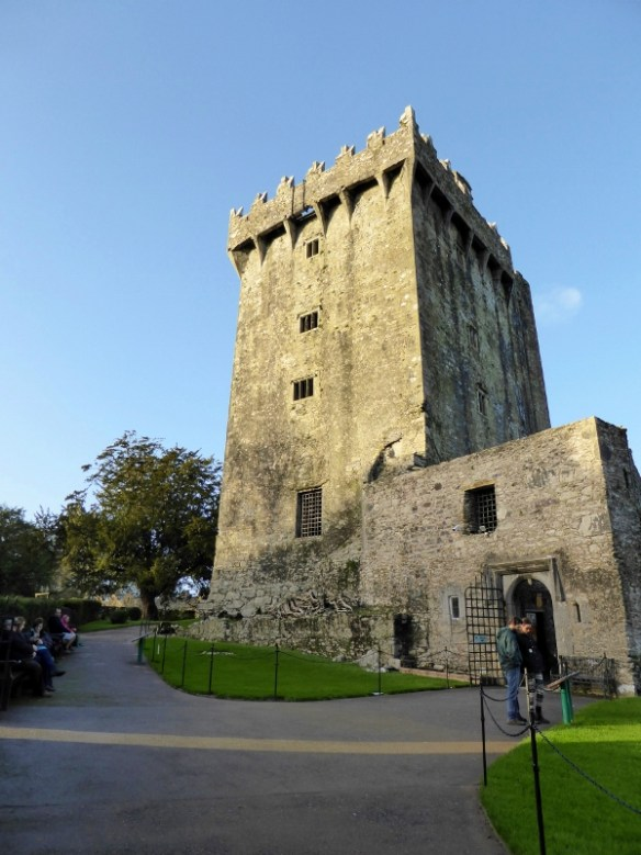 Blarney Castle County Cork Ireland - Kissing the Blarney Stone (2)