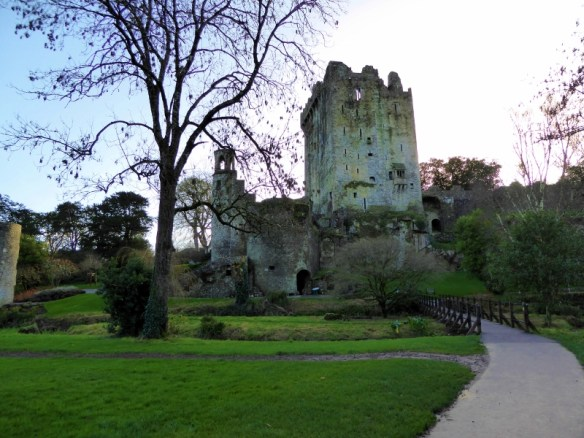 Blarney Castle County Cork Ireland - Kissing the Blarney Stone