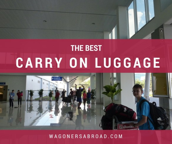 So What Is The Best Lightweight Cabin Luggage For You?  We share our thoughts on the top reviewed carry on luggage and suitcases - read more on WagonersAbroad.com